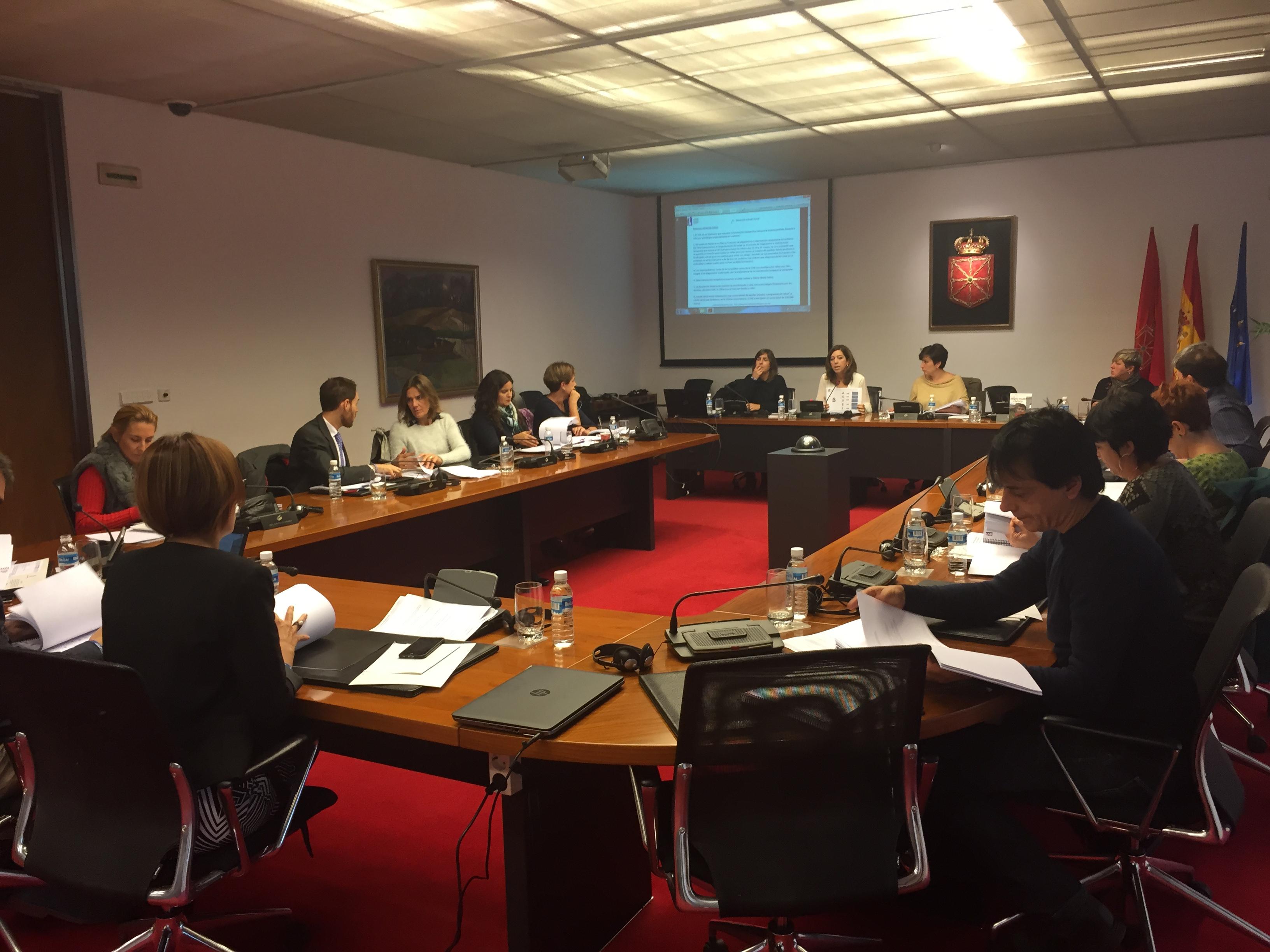 Comisión Salud Parlamento 21 octubre