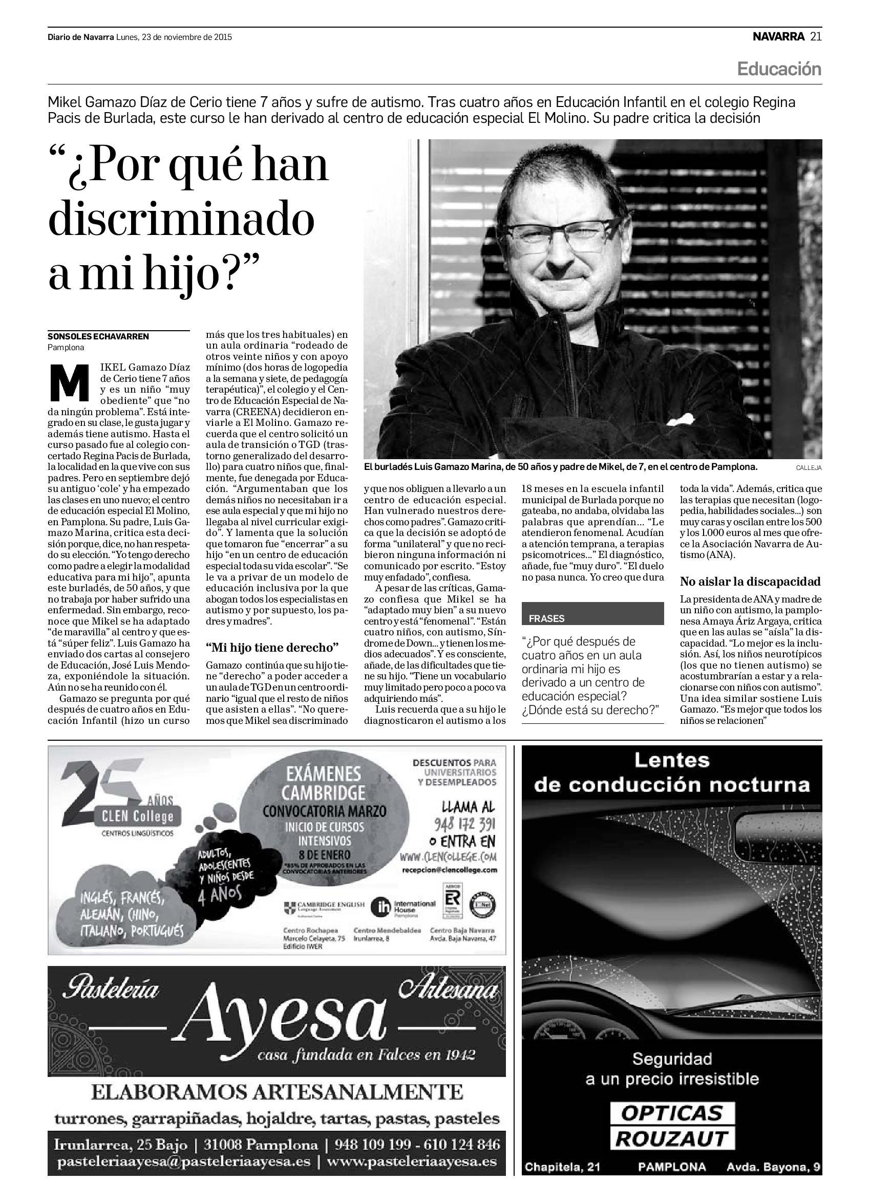 20151123 - Diario de Navarra - Navarra - pag 20-LUIS2