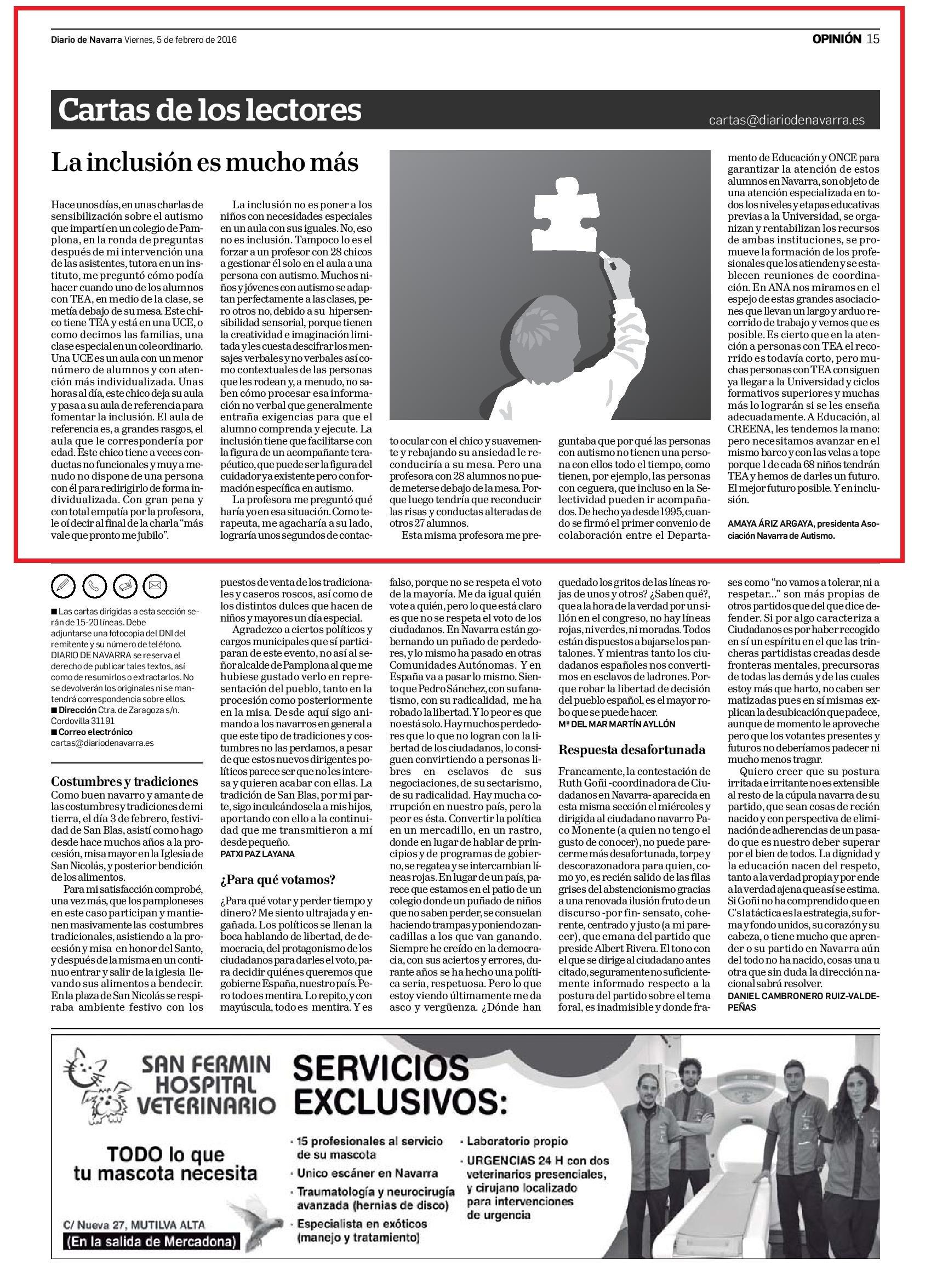 20160205 - Diario de Navarra - Opinión - pag 15-page-001.