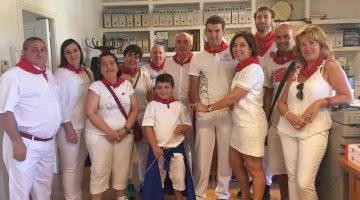 Alcalde Mélida, familias y Junta de ANA br