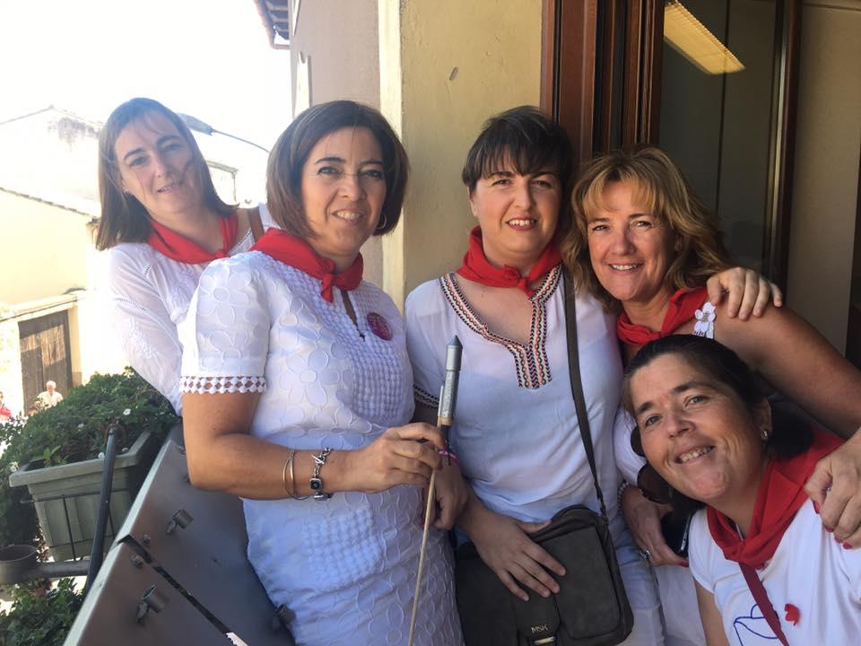 Miembros Junta de ANA en Mélida br