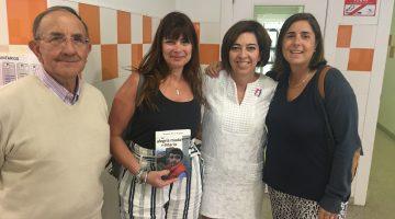 Visita Mercedes Torbidoni a ANA