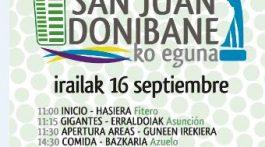 Cartel Día de San Juan,16 de septiembre