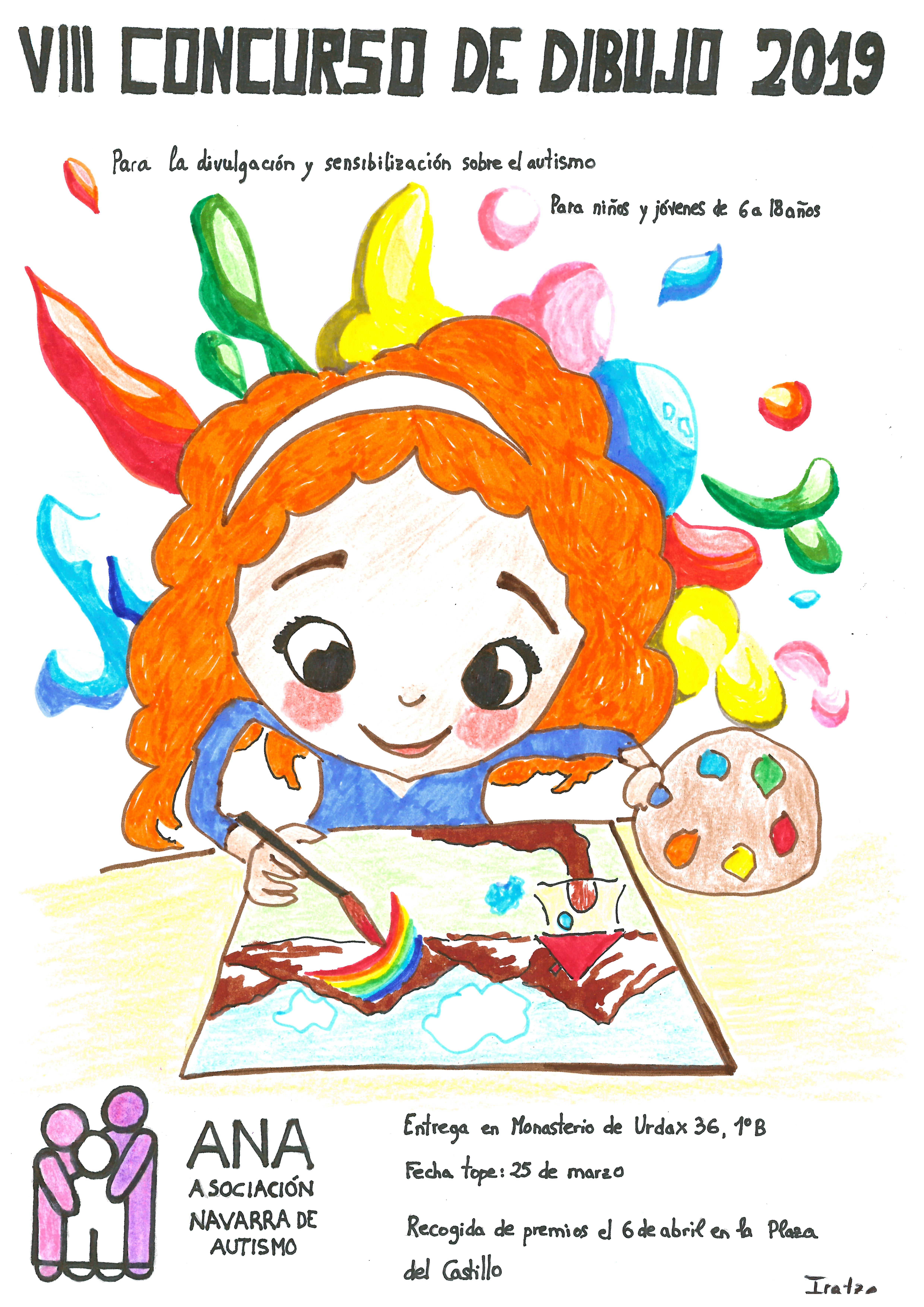 Viii Concurso De Dibujo Para La Sensibilización Del Autismo Ana Asociación Navarra De Autismo