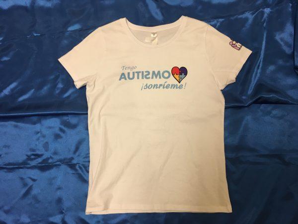 Camiseta Blanca Autismo Navarra